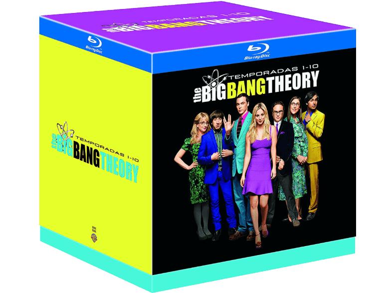 Big Bang Theory - Blu-ray, Box, Temporada 1-10