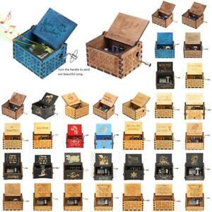 Caja de música de madera