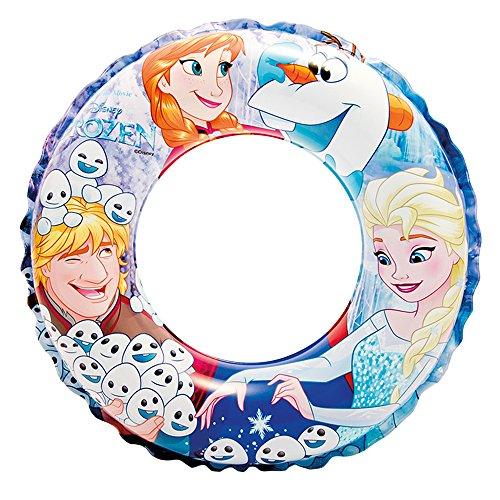 Intex Frozen - Flotador hinchable para niños de 3 a 6 años, diámetro flotador: 51 cm producto plus