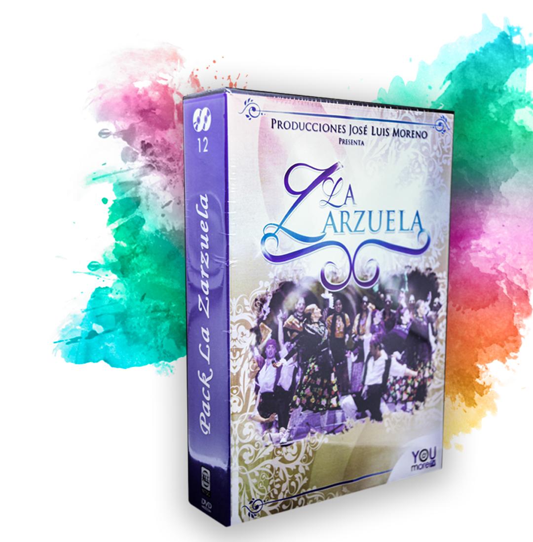 Dvd´s Artistas clásicos, zarzuelas y óperas El regalo perfecto para tus padres!!