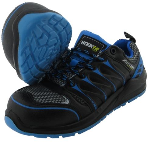 Zapatos de seguridad XCROSS S1P fibra de vidrio.