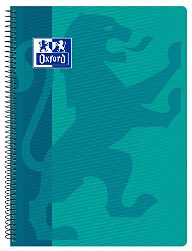 Cuaderno tamaño folio Oxford 80 hojas tapa de plástico