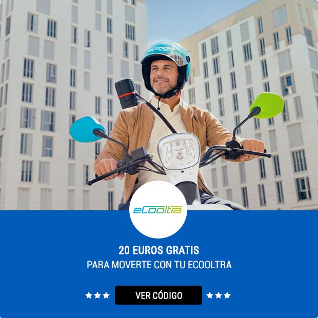 20€ GRATIS de alquiler en eCooltra (nuevos usuarios)