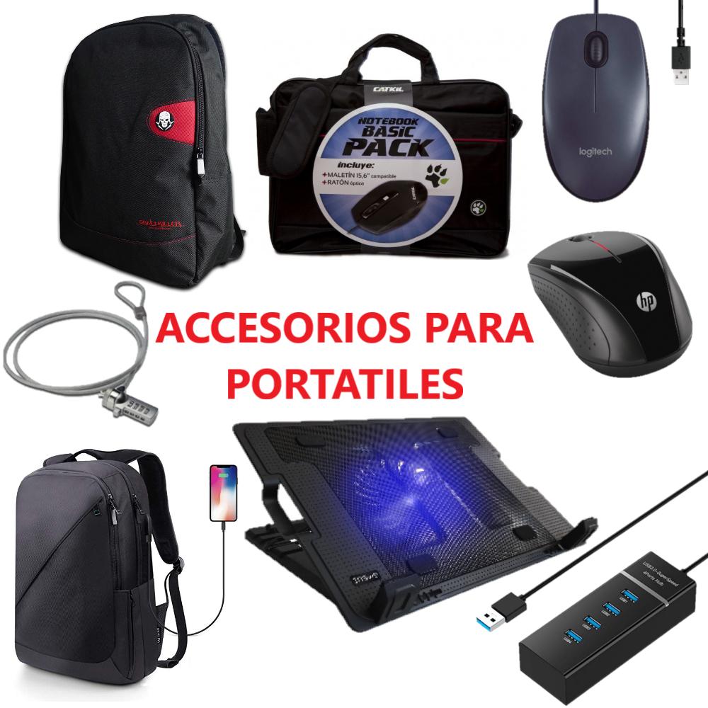 """Selección de mochilas, maletines y accesorios para portátiles de 15-17"""""""
