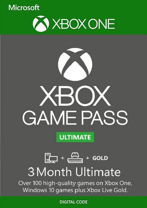 3 Meses de GAME PASS ULTIMATE por 14,79 (4,93€ al mes)