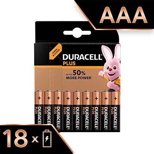 Duracell - Ultra AAA, Pilas Alcalinas - Paquete de 18