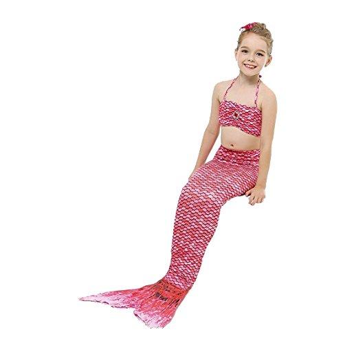 Bañador para niña / disfraz de sirena