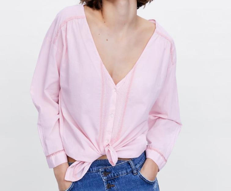 Camisa para mujer Zara