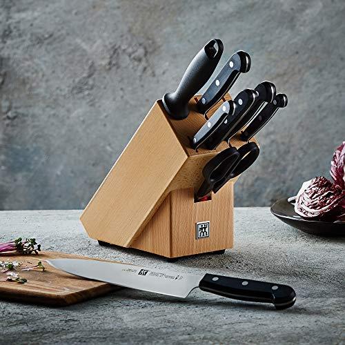 Bloque de 9 cuchillos Zwilling Twin Gourmet