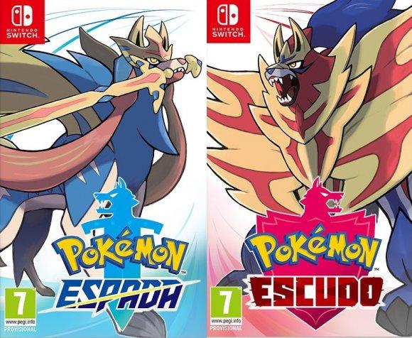 Pokemon Escudo o Espada