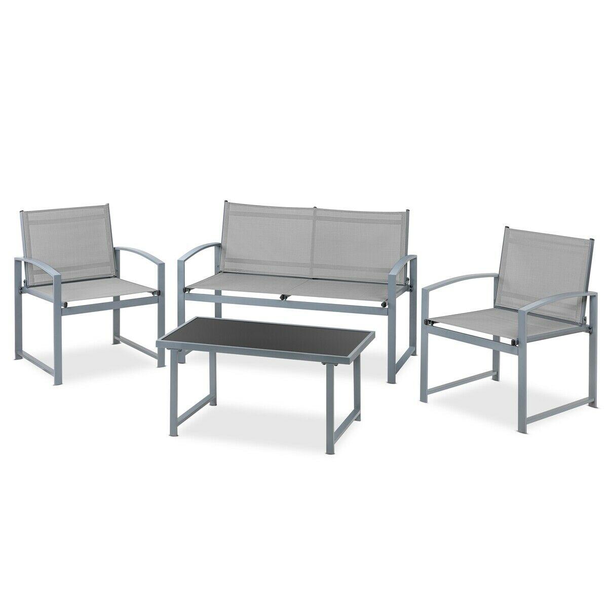Set jardín sofá + mesa + sillas solo 59.9€
