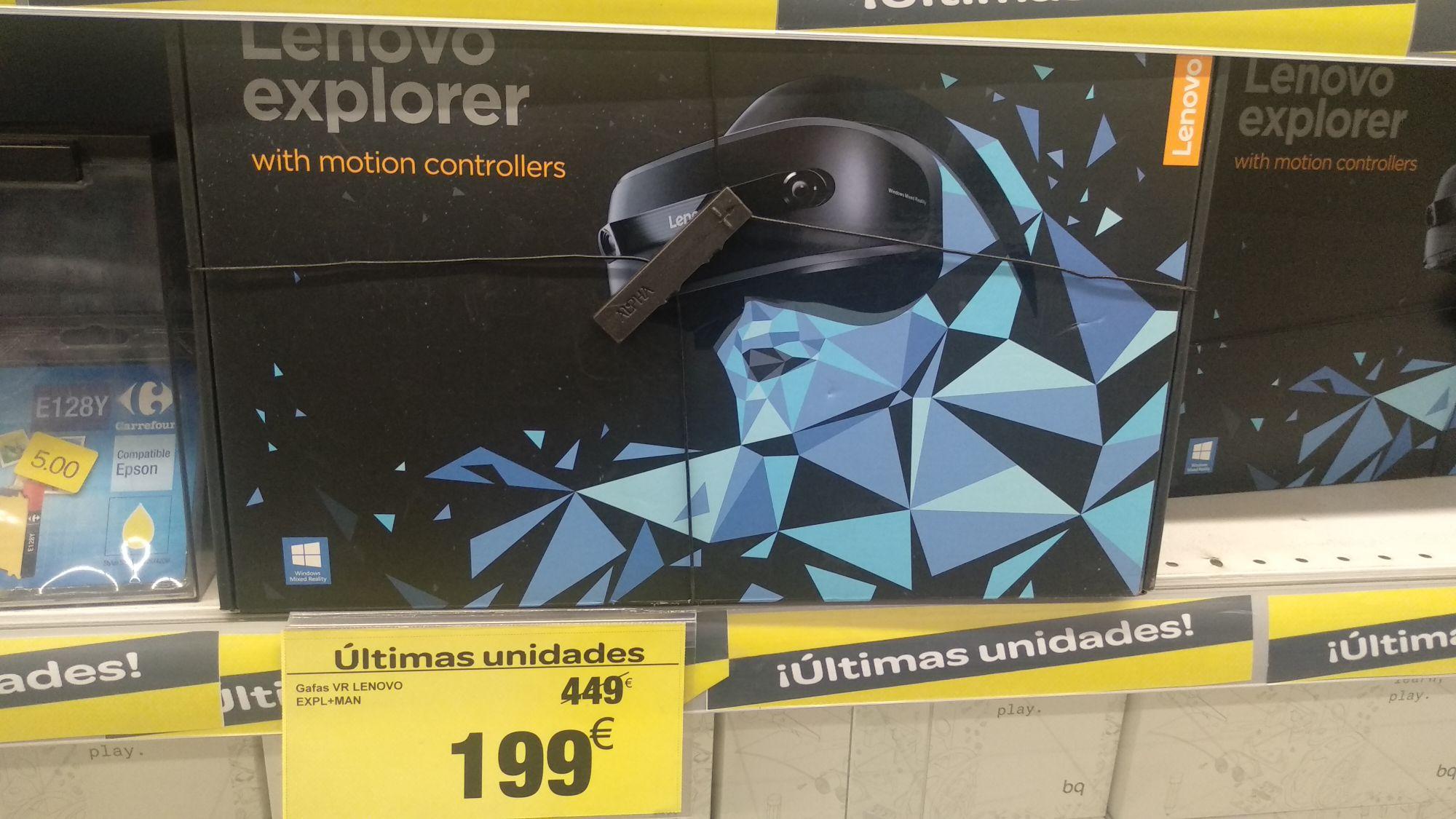 Gafas VR Lenovo en Carrefour Collado Villalba
