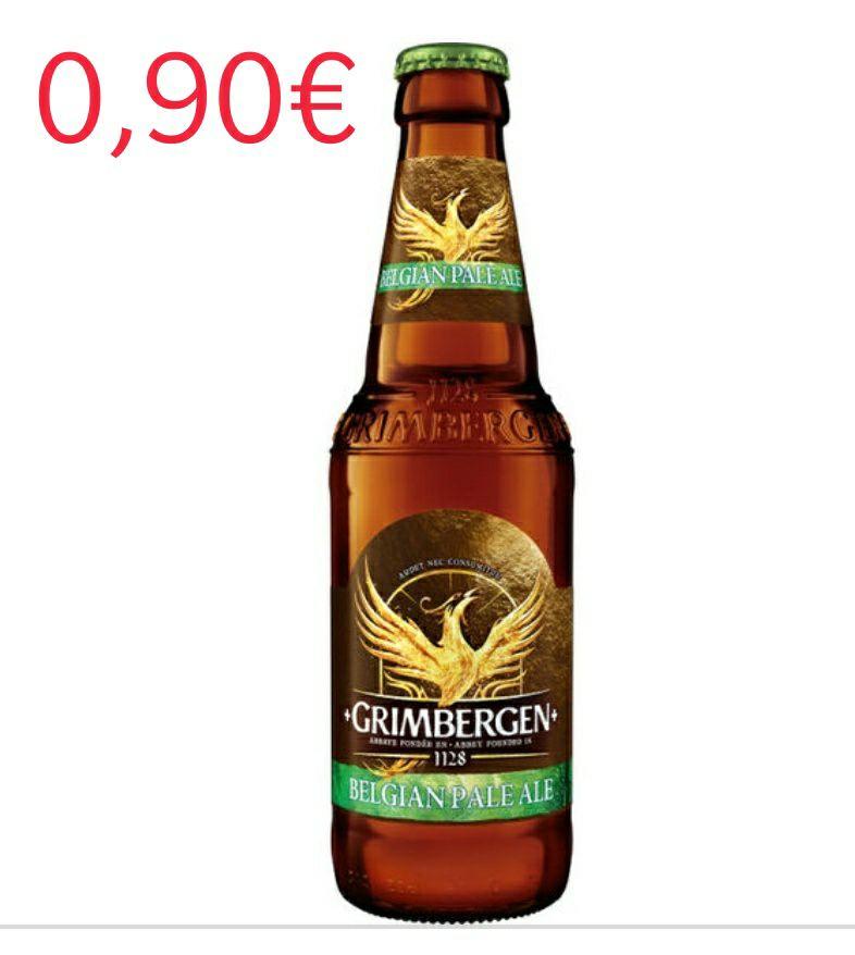 GRIMBERGEN BELGIAN PALE ALE Y DOUBLE AMBRE A 0,9€