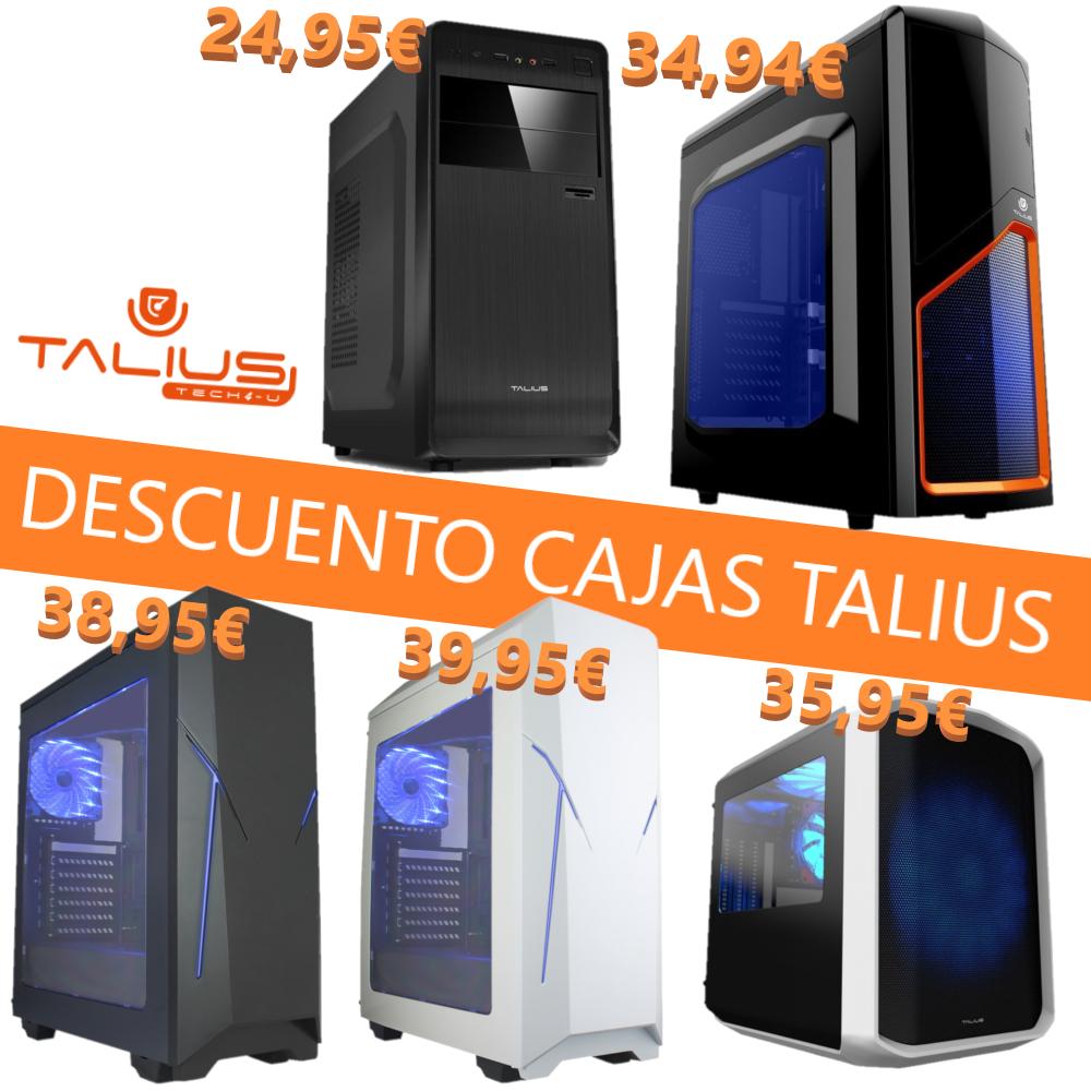 Selección de Cajas ATX de Talius / Menos de 40€