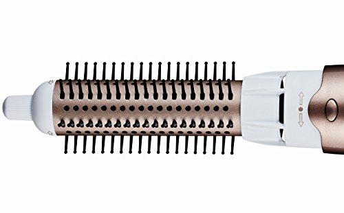 Grundig HS 7880 profesional de volumen y de pelo Styler con 4 boquillas y 5 Compartimento REACO COMO NUEVO