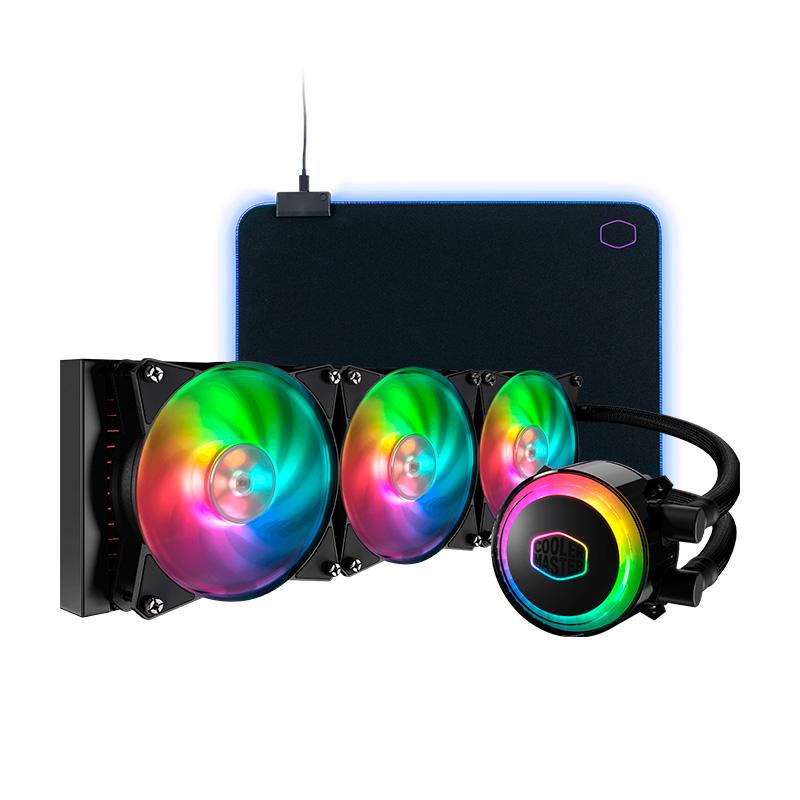 Cooler Master ML360R RGB + MP750 Gaming M RGB