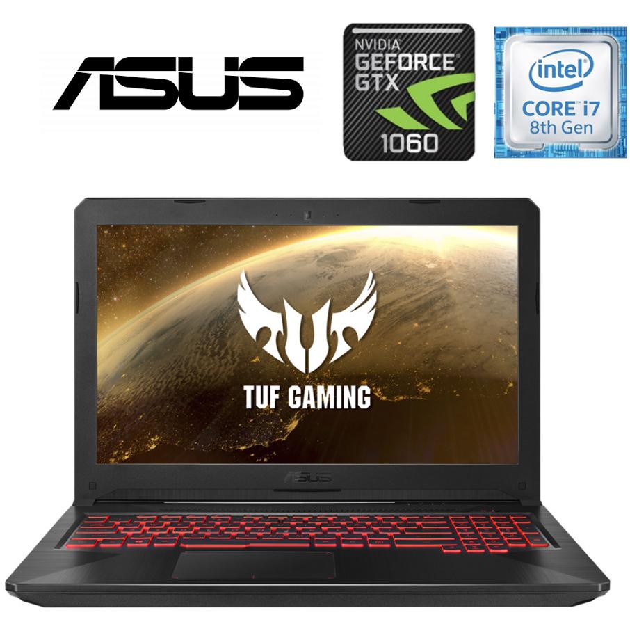 "ASUS TUF FX504GM-EN480T, i7, 8GB, 128GB + 1TB, GTX1060 6GB, 15.6""  IPS 120Hz, Win10"