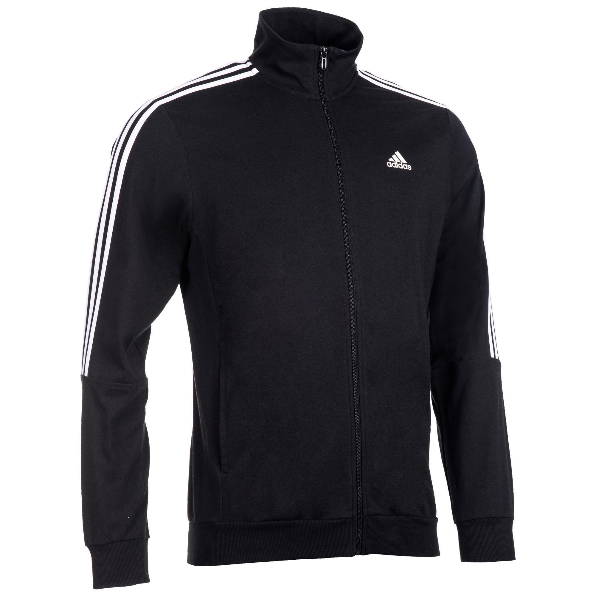Sudadera Adidas Negra con Cremallera