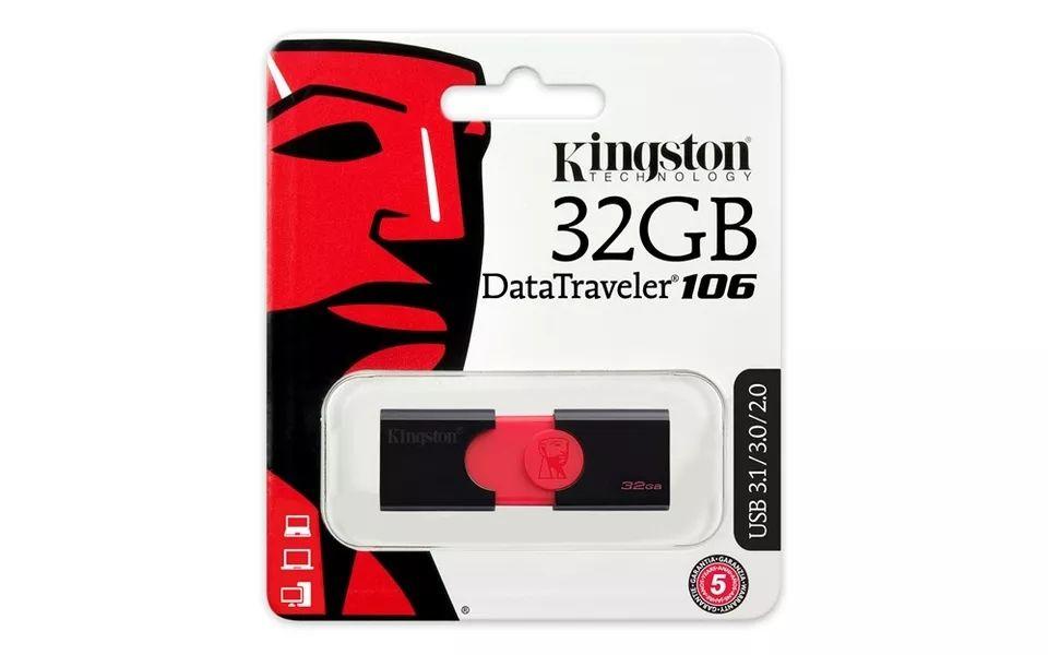 Pendrive kingston 32gb DT 106 usb 3.0 (con cupón del vendedor, envío desde España)