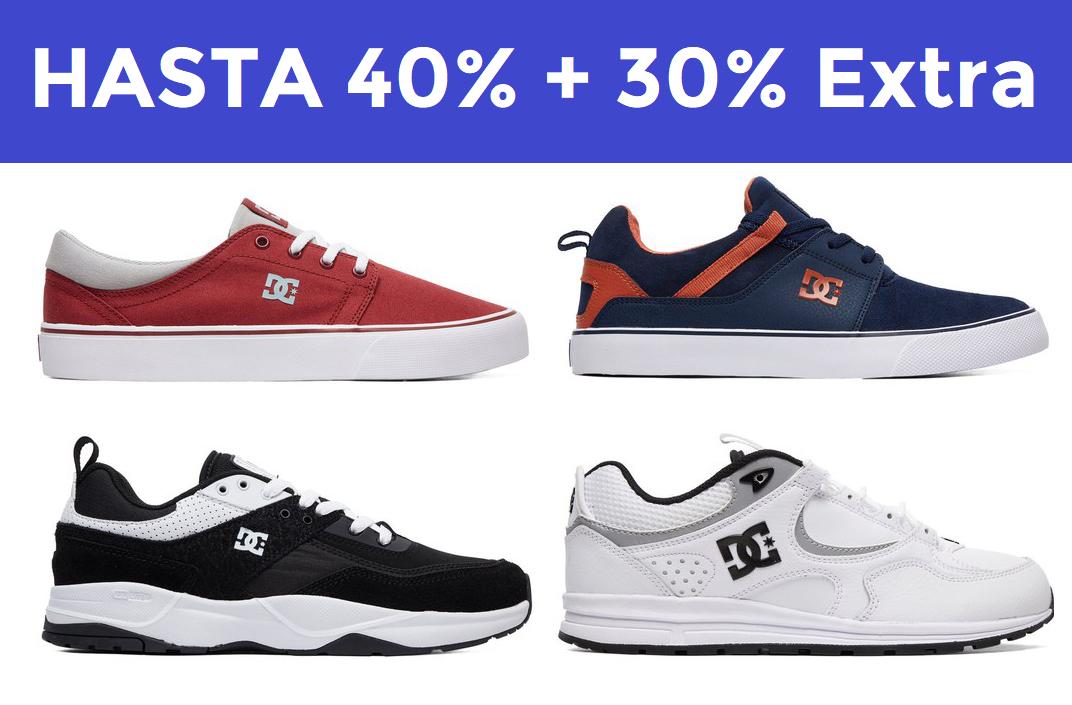 Hasta 40% + 30% EXTRA Exclusivo DCSHOES
