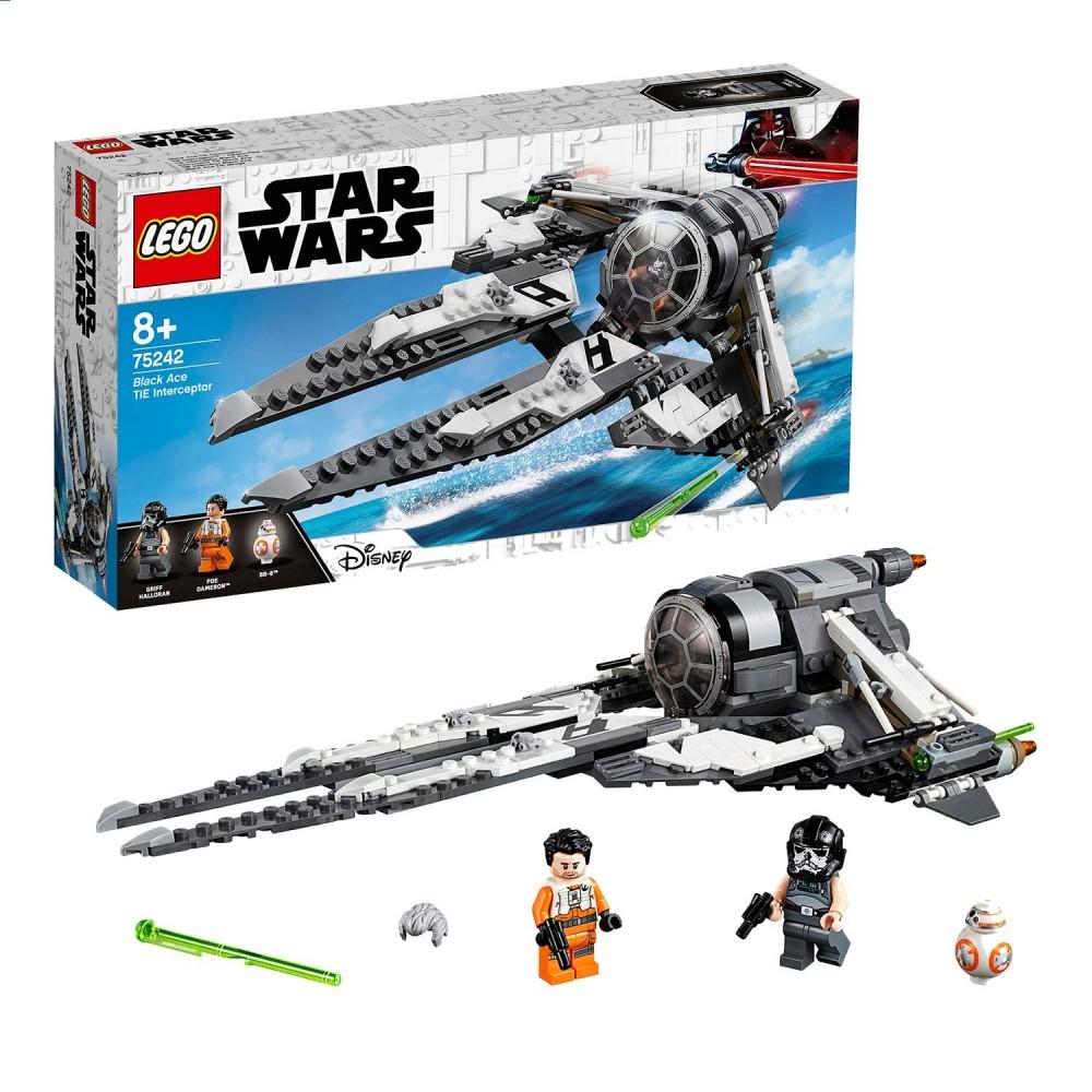 LEGO Star Wars - Interceptor TIE Black AceREFERENCIA: 00044820