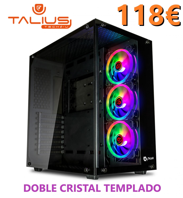 Talius Cronos Cristal Templado- High Level Gaming