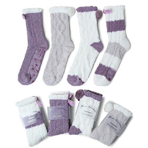4 pares de calcetines de invierno para andar por casa