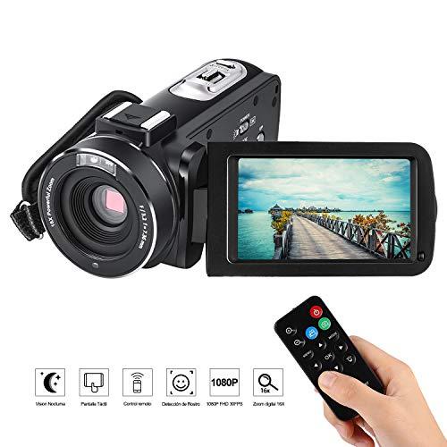 Videocámara de visión nocturna, 1080p - 24 Mp.