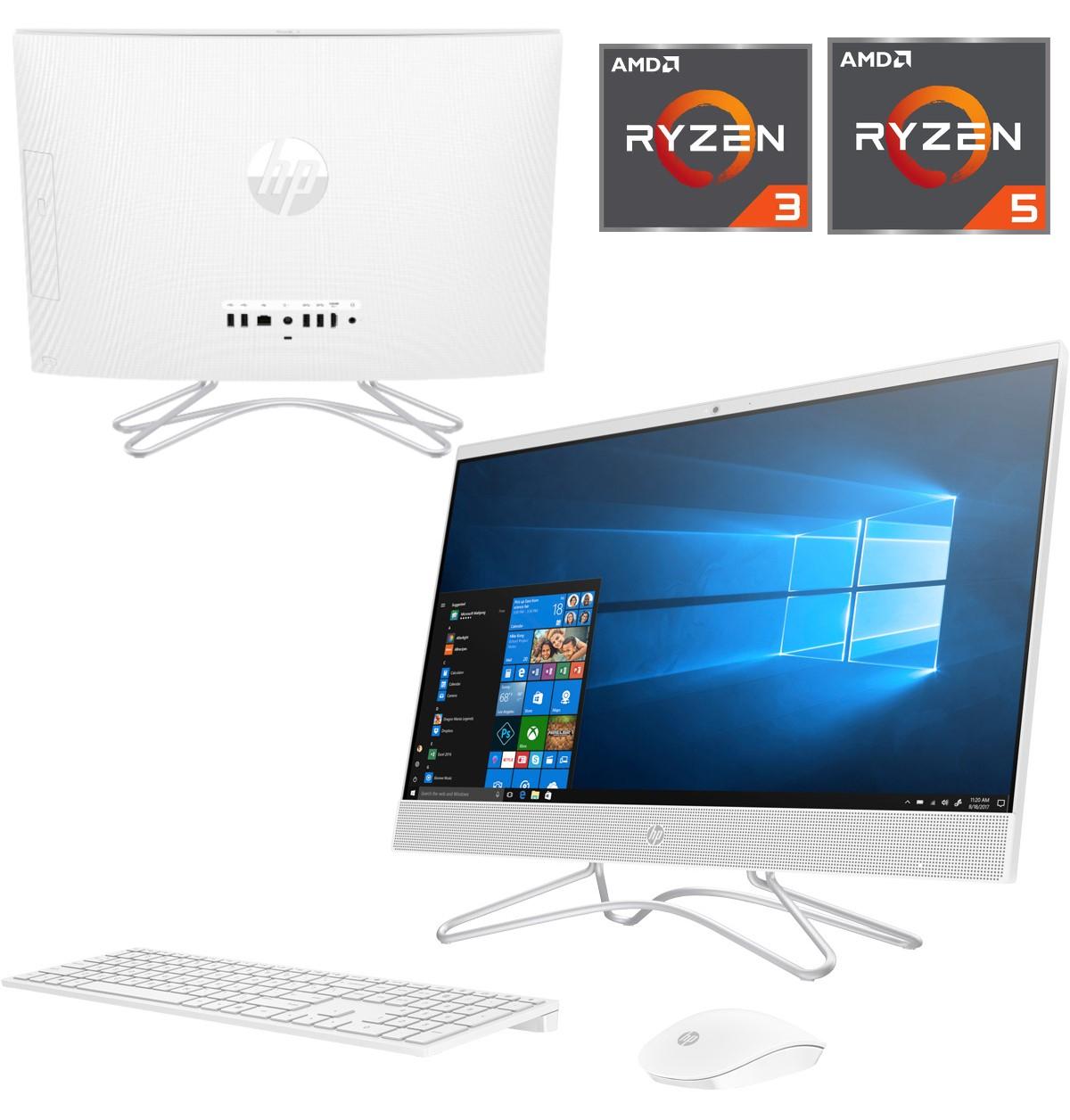 "All in One HP 24"" FHD IPS, AMD Ryzen 3 3200U, 8 GB, 512 GB SSD / R5 3500U a 519€"