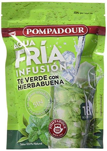 Té verde con hierbabuena Infusión Fría - Pack de 4 (72 bolsitas)