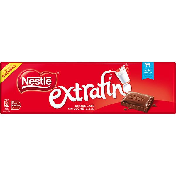 18 tabletas Nestlé Extrafino 300 gramos por 16€ (A 2,96€/kg)