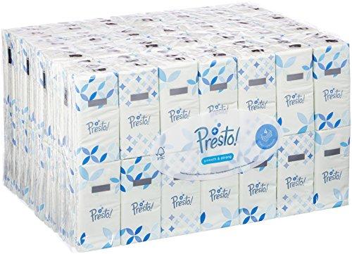 168 paquetes de pañuelos