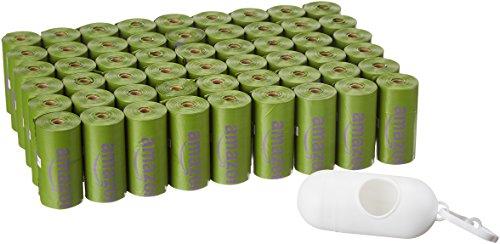 810 Bolsas biodegradables para heces de mascotas