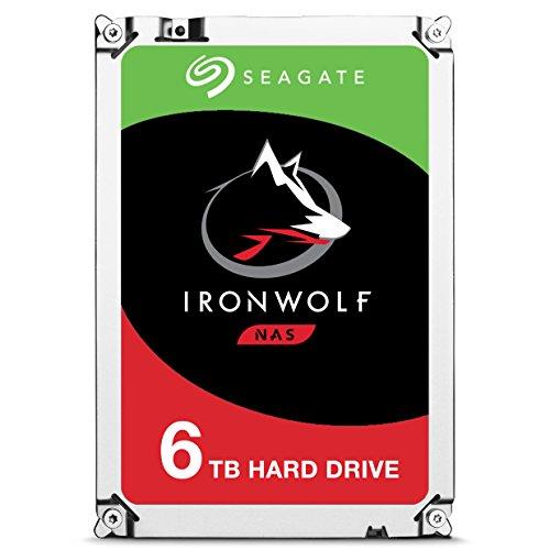 Seagate IronWolf - Disco duro interno de 6 TB para sistemas NAS
