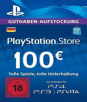 PlayStation Store 100 EURO PSN Gift Card Germany