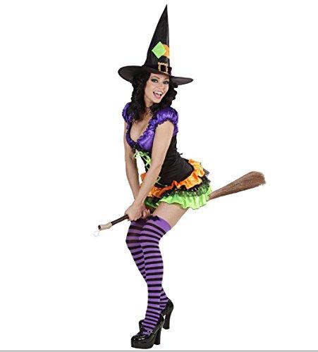 Disfraz de Halloween bruja talla M producto plus