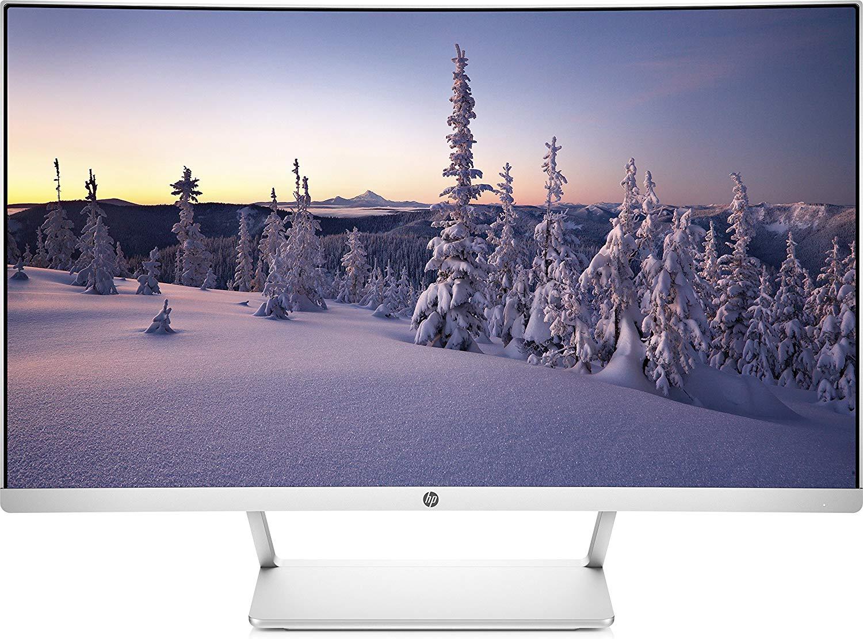 "HP Z4N74AA - Monitor curvo Full HD de 27"""