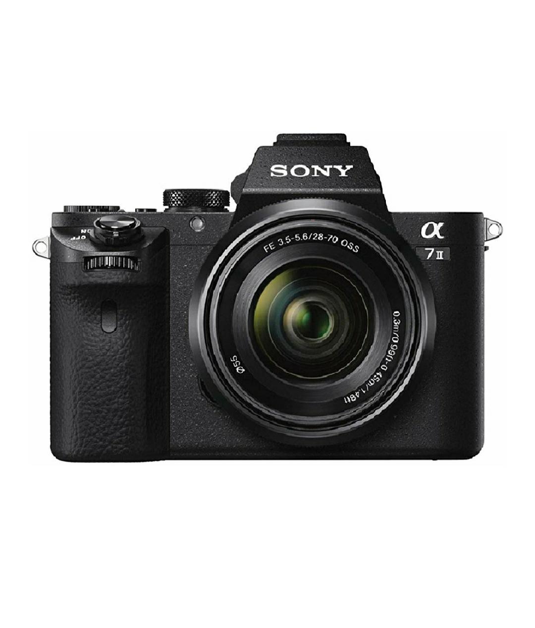 Sony Alpha ILCE-7M2K - Cámara EVIL con montura tipo E y sensor de fotograma completo
