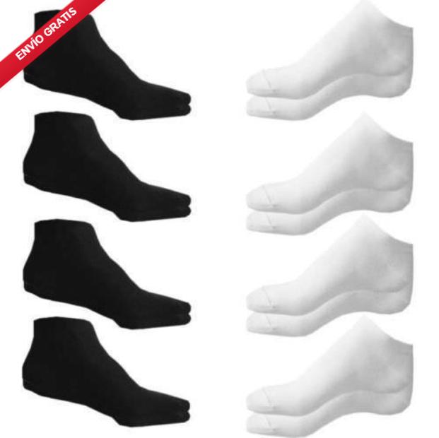12 pares de calcetines para hombre