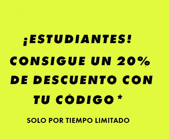 -20% para estudiantes en España en  ASOS