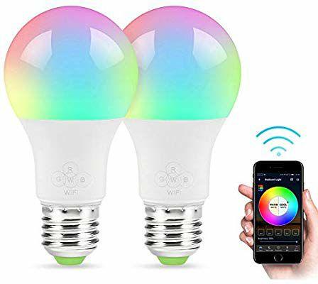 Bombilla LED WiFi inteligente rgb