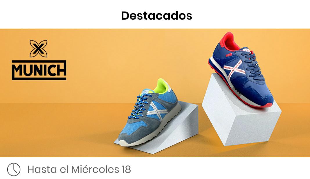 Zapatillas oficiales Munich desde 29,99€ en la App Privalia