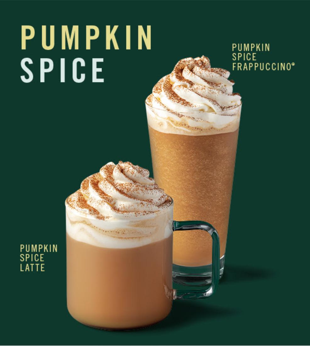 [Starbucks] Pumpkin Spice Latte GRATIS para socios Platino