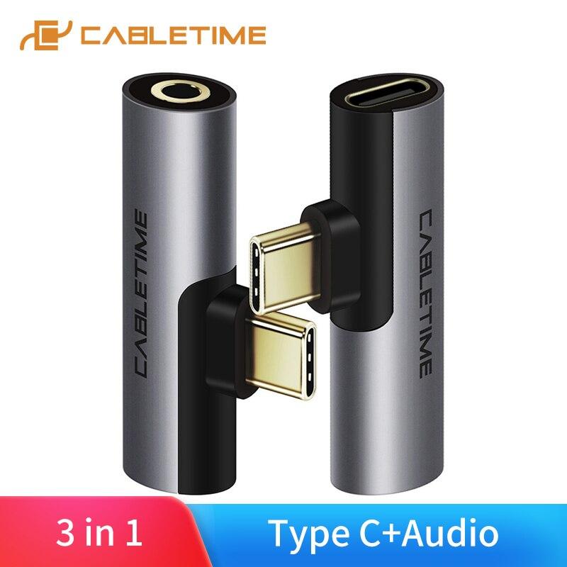 USB tipo C de Audio Jack de 3,5mm Auriculares auriculares