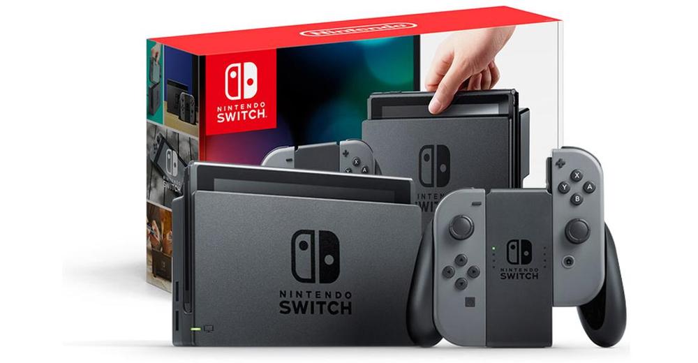Nintendo Switch con Joy-Con Gris a 240€