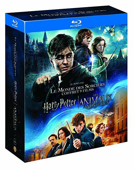 8 películas Harry Potter + Animales fantásticos (blu-ray) a preciazo!!!