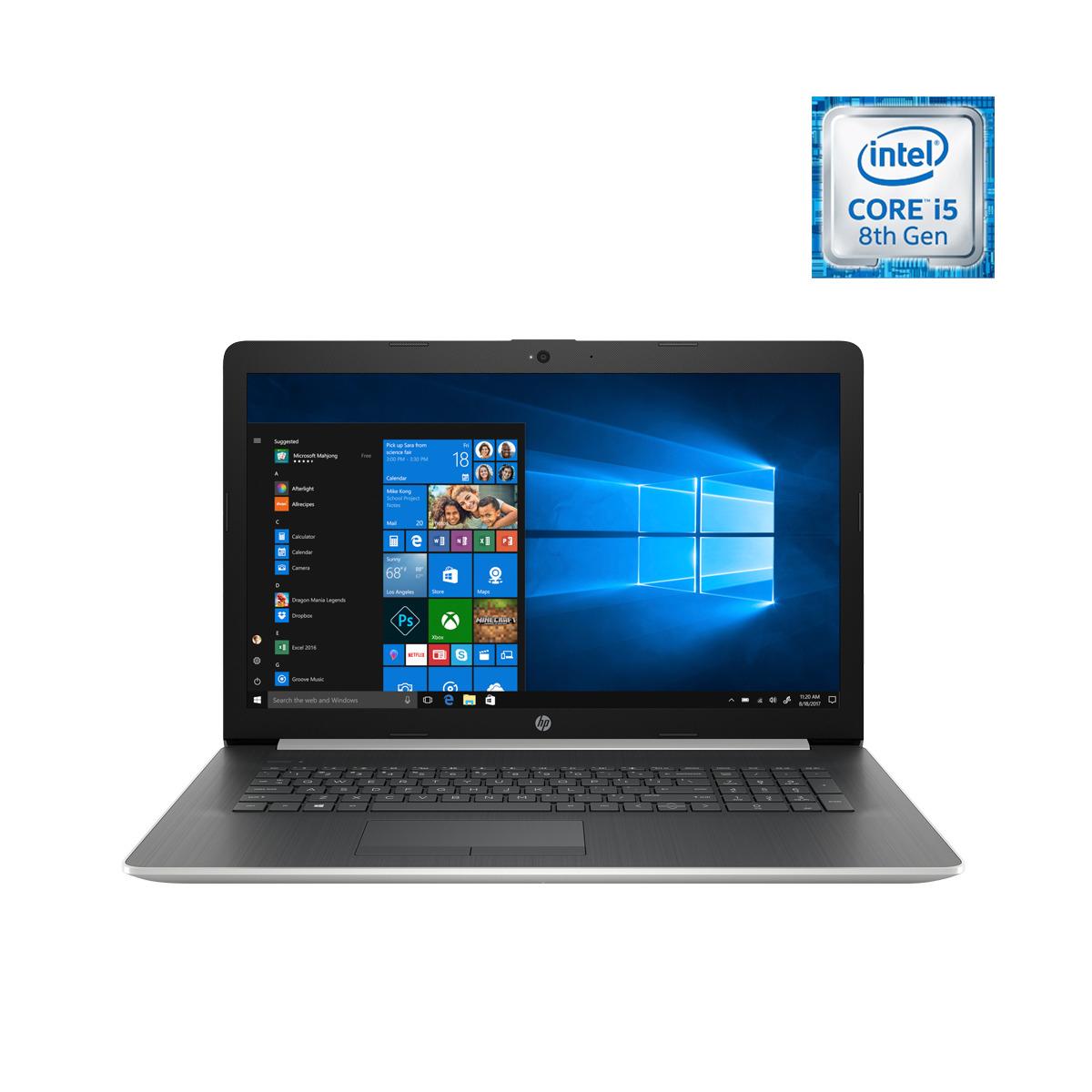 Portátil HP 17-by1003ns, i5, 16 GB, 256 GB SSD, AMD Radeon 520 2GB