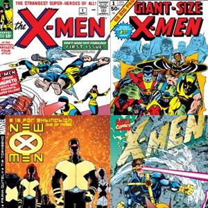 4 cómics de los Xmen (Marvell)