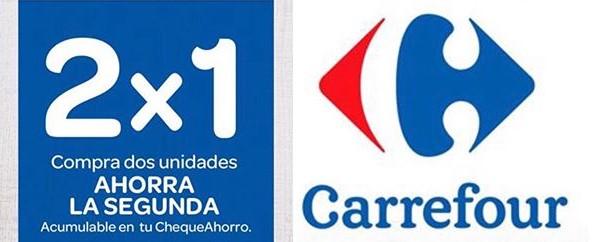 2x1 Carrefour Acumulable ChequeAhorro