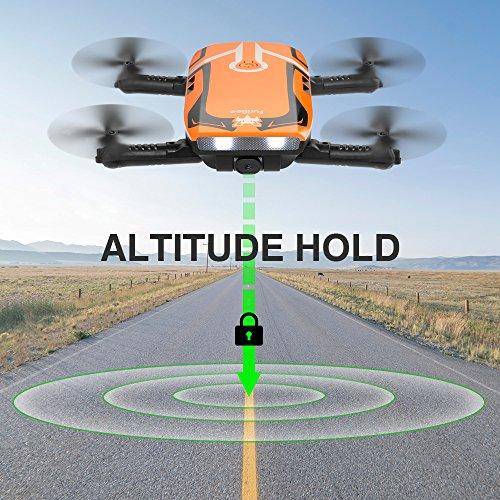 H818 RC Plegable Mini Drone Wifi FPV Drone 720P HD